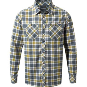 Craghoppers Andreas T-shirt à manches longues Homme, ombre blue combo checkered